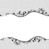 Lace. seamless background Stock Image