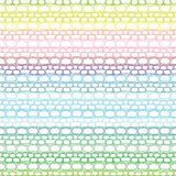 Lace seamless crochet pattern Stock Photo