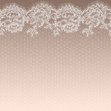 lace seamless modell stock illustrationer