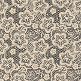 Lace Seamless Pattern. Stock Photo
