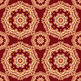 Lace seamless pattern, colors elegant print background Royalty Free Stock Images