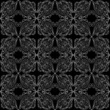 Lace seamless pattern Stock Photography