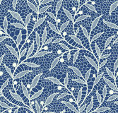 Lace Seamless Pattern. Royalty Free Stock Photo
