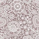 Lace seamless pattern. Stock Photography