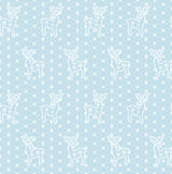 Lace snowflakes borders Royalty Free Stock Photos