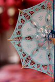 Lace souvenir umbrella Royalty Free Stock Photography