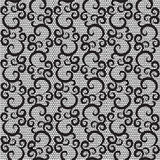 Lace with swirls Stock Photos