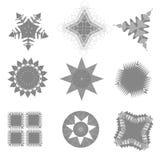 Lace symbol vector set pattern Royalty Free Stock Photos