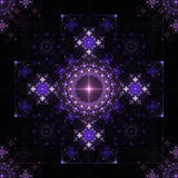 Lace symmetric fractal Stock Image