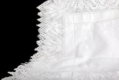 Lace Tablecloth Stock Images