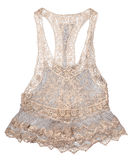 Lace Tank Top Royalty Free Stock Images