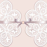 Lace with tape Royalty Free Stock Images