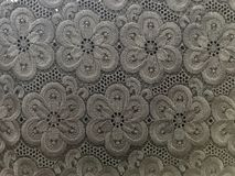 Lace texture. Flower lace texture clothing for decoration Stock Image