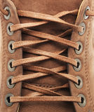 Lace Texture Of Shoe Royalty Free Stock Photography