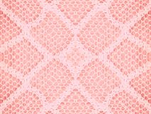 Lace Texture Pattern In Pink Stock Photo