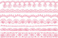 Lace trims. Royalty Free Stock Photography