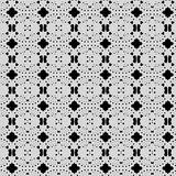 Lace type background - black and white Stock Photography