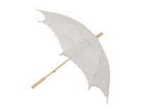 Lace umbrella Stock Images