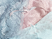 Lace underwear background Royalty Free Stock Photography