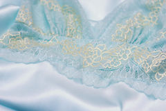 Lace underwear background Stock Photos