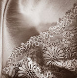 Lace underwear background Stock Photo