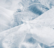 Lace underwear background - vintage style Royalty Free Stock Photography