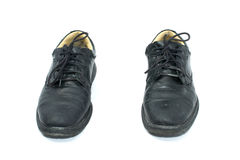 Lace Up Shoes From Front Royalty Free Stock Photo