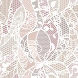 Lace vector fabric seamless pattern Stock Photos