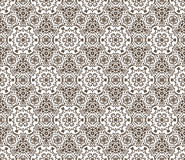 Lace vector fabric seamless  pattern with flowers Royalty Free Stock Photo