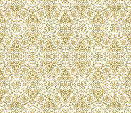 Lace vector fabric seamless  pattern with flowers Stock Photo