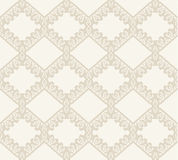 Lace vector fabric seamless  pattern Royalty Free Stock Photography