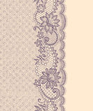 Lace Vertical Seamless Pattern. Stock Photo