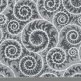Lace Vertical Seamless Pattern. Royalty Free Stock Photography