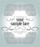 Lace vintage border Stock Photography