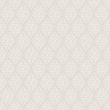 Lace vintage floral vector seamless pattern Royalty Free Stock Images