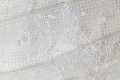 Lace wedding dress Stock Photography