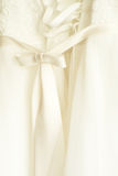 Lace wedding dress Royalty Free Stock Photography