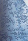 Lace on wedding dress Stock Image