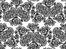 Lace wedding guipure pattern Stock Images