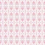 Lace white seamless mesh pattern. Royalty Free Stock Photo