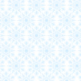 Lace white snowflakes pattern Stock Photography