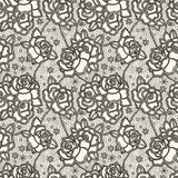 Lacec pattern Royalty Free Stock Images