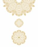 Laced arabic pattern Stock Photos