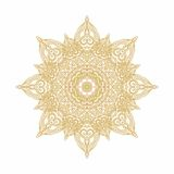 Laced arabic rosette Royalty Free Stock Photos