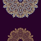 Laced decorative background Royalty Free Stock Photos