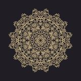 Laced decorative floral rosette Stock Image