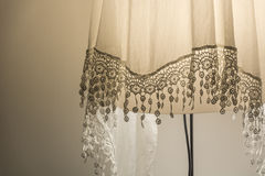 Laced modern lamp Royalty Free Stock Image