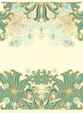 Laced seamless sea  pattern Stock Photography