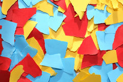 Lacerated Color Paper Royalty Free Stock Photo