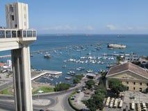 Lacerda elevator in Salvador da Bahia. Brazil Royalty Free Stock Images